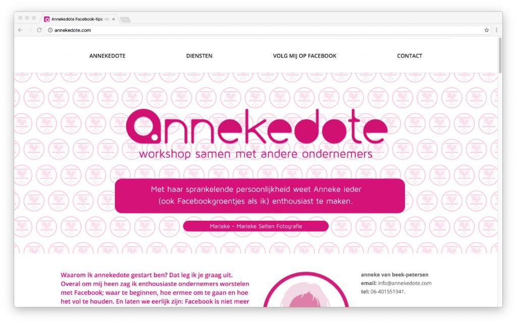 website: annekedote