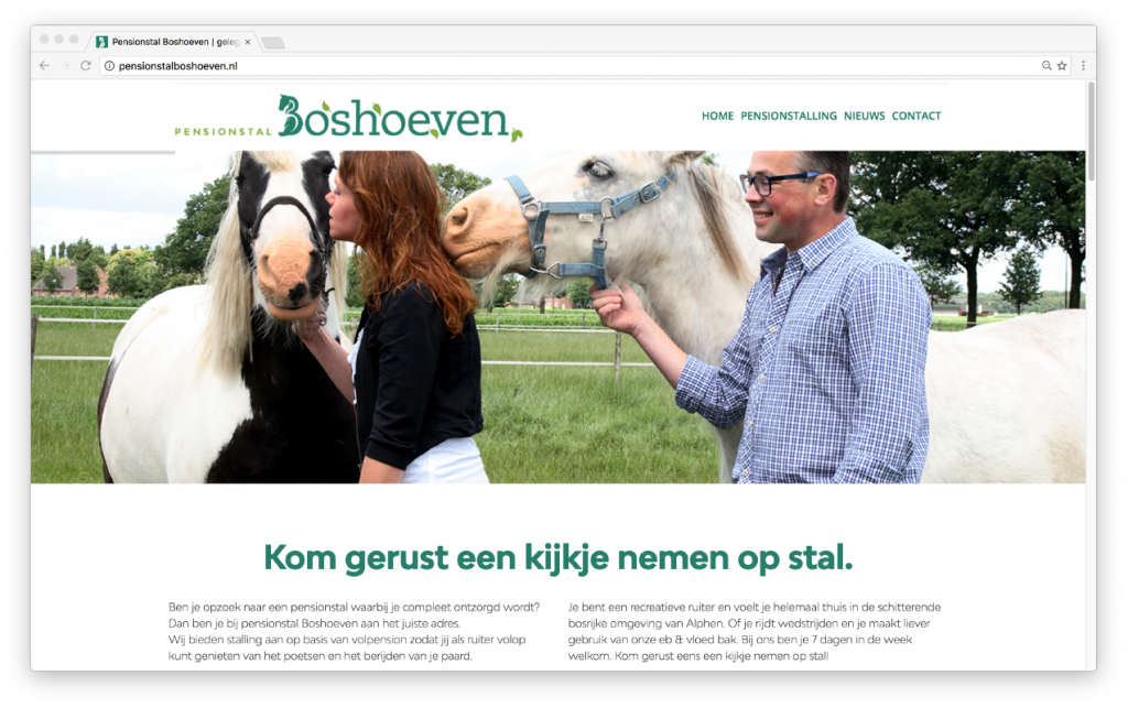 website: Pensionstal Boshoeven